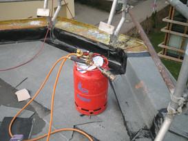 Flachdachsanierung mit Bitumen