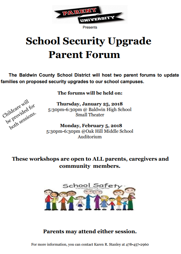 Graphic image for forums that will take place on Thursday, January 25th from 5:30 p.m. to 6:30 p.m. and Monday February 5th, from 5:30 p.m. - 6:30 p.m.
