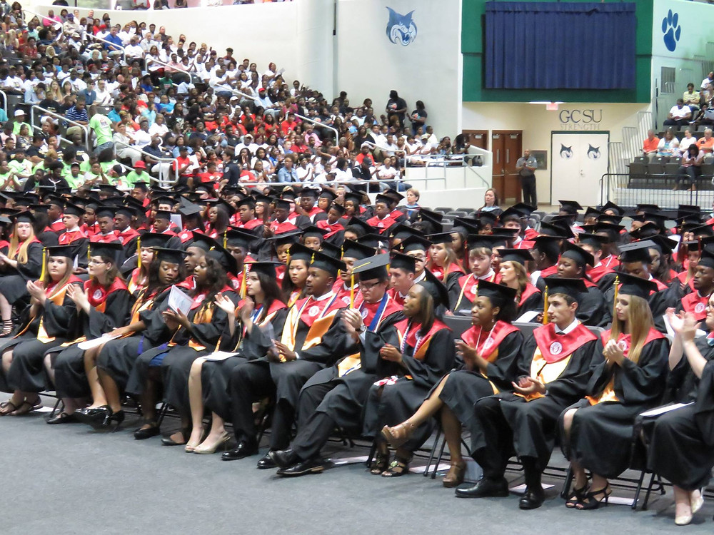 Picture of the graduating class of 2017