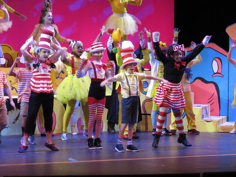 Students from the Baldwin Academy Playhouse Performing last year.