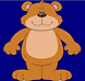 Blandy Bear Logo