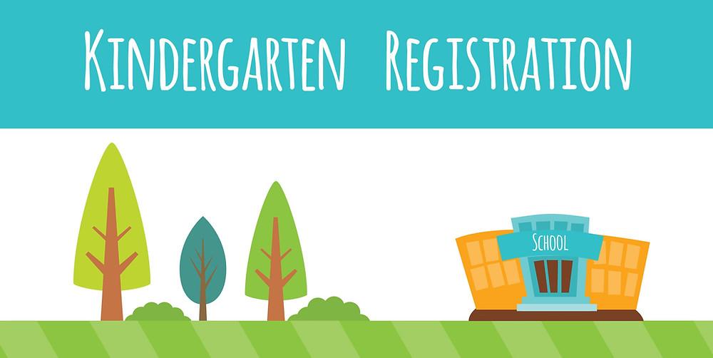 Kindergarten registration flier.