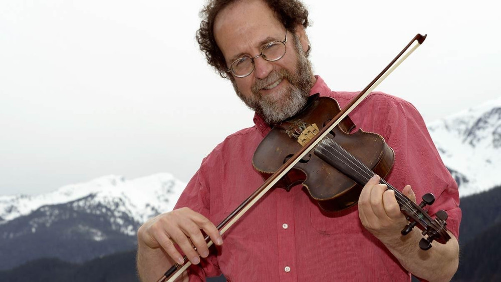 Stock photo of Ken Waldman playing fiddle.