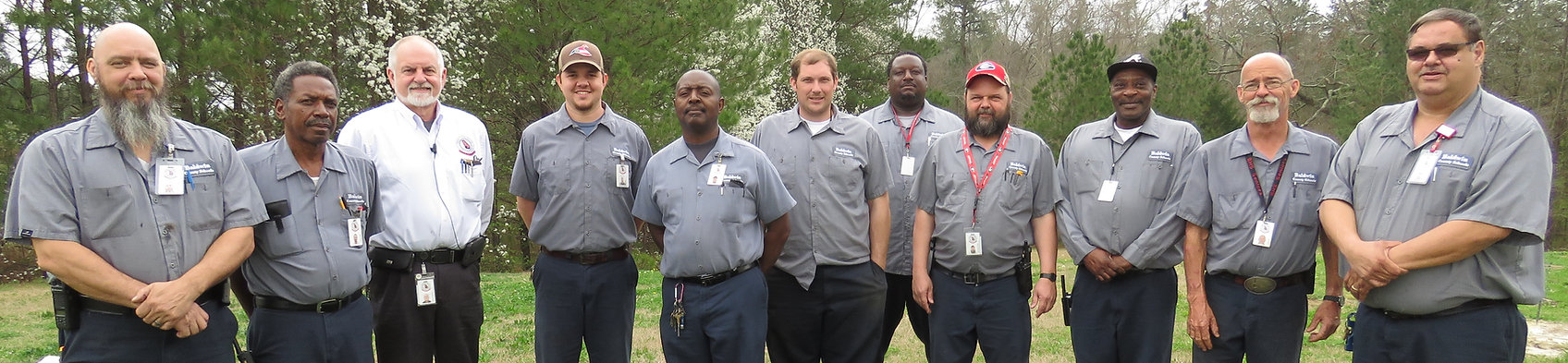 All staff of the BCSD maintenance department