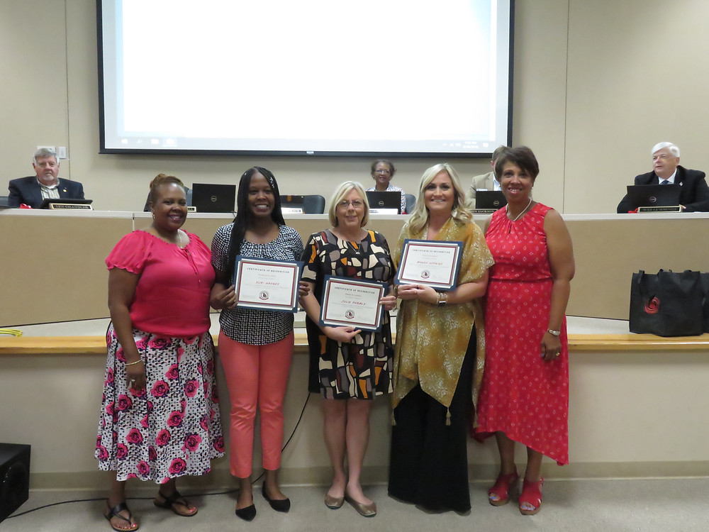 September's Pursuit of Excellence Winners