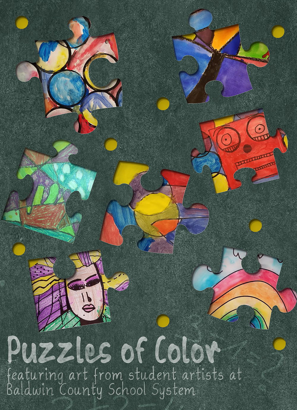 Flier for Puzzles of Color