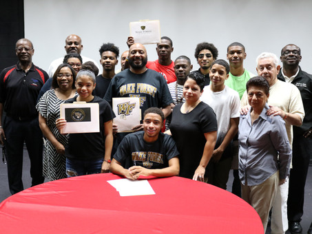 BHS Track Star Commits to Wake Forest