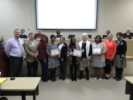 November Board Recognitions
