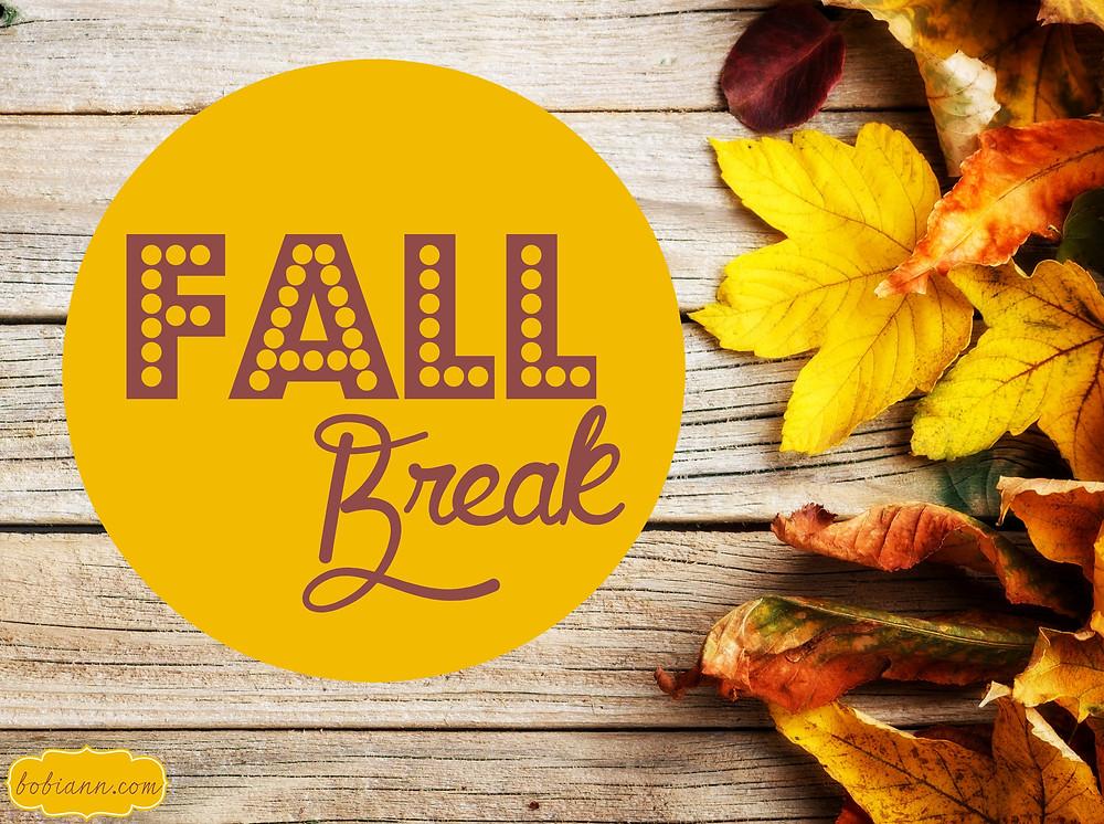 Fall Break Graphic