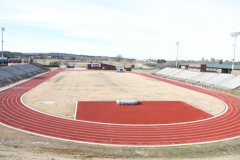 A photo of Braves outdoor track