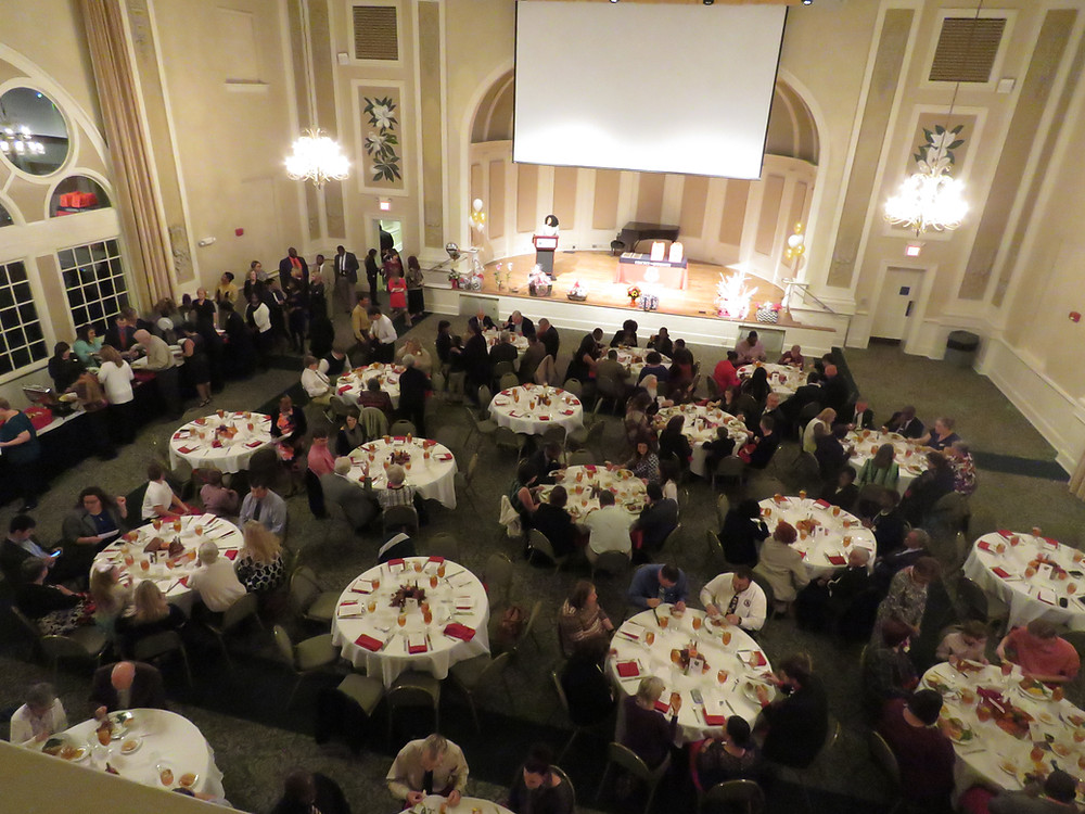 Venue shot of last year's Teacher of the Year ceremony.