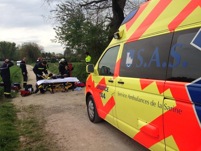 Ambulance du SAS
