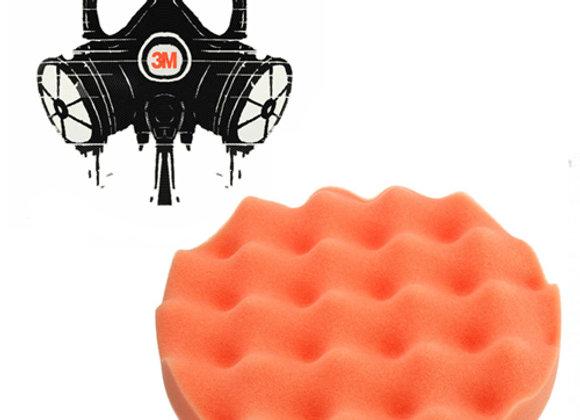 Полировальник 3mrussia-shop оранжевый рифленый 150мм