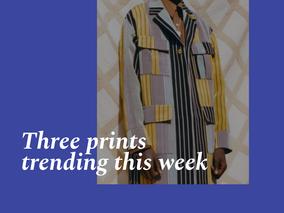 Three prints trending this week