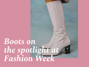 Key boots in the spotlight at Fashion Week