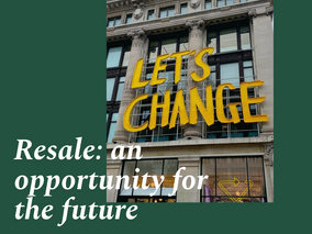 Resale: an opportunity for the future
