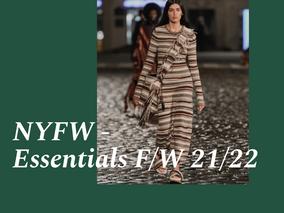 NYFW - Essentials F/W 21/22
