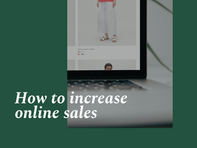 How to increase online sales