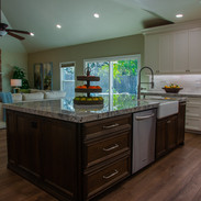 We did the floors and countertops for this lovely kitchen