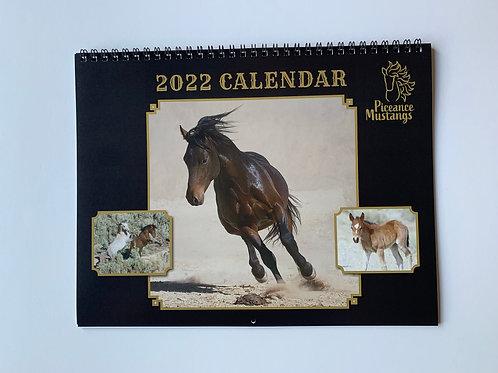 2022 Piceance Mustang Calendar