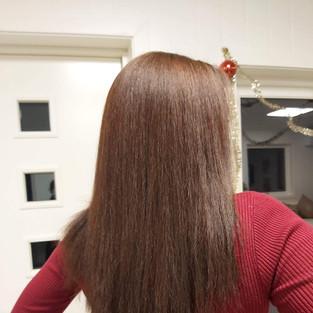 Fra sort hår til lys brun
