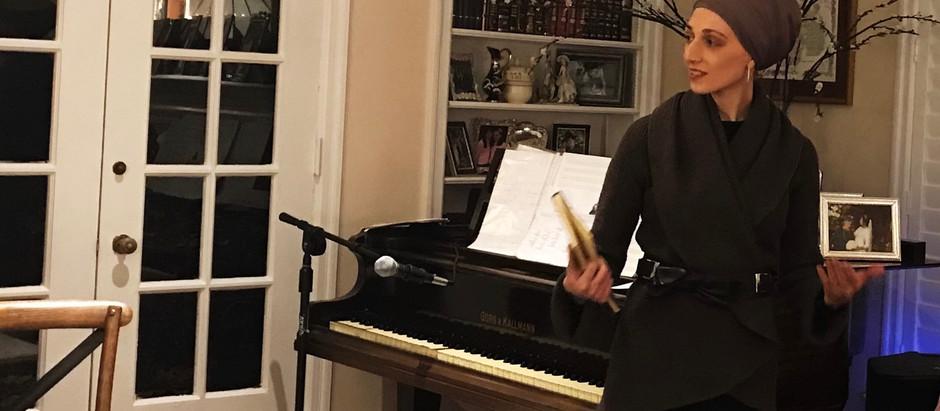A musical inspiration evening