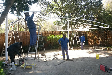 shadeports carports installers steel