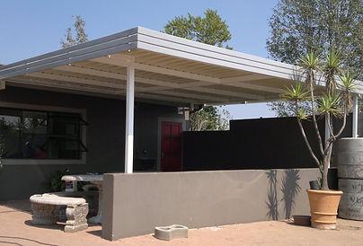 carport patio cover ibr chromadek galvanised polycarb shade