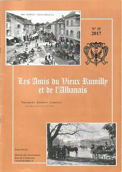Bulletin des Amis du Vieux Rumilly et de l'Albanais - 2017