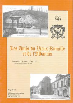 Bulletin des Amis du Vieux Rumilly et de l'Albanais - 2018