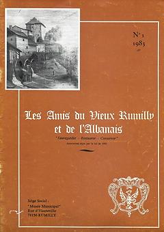 Bulletin des Amis du Vieux Rumilly et de l'Albanais - 1983