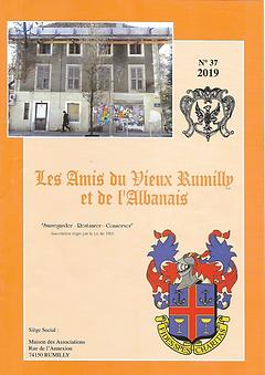 Bulletin des Amis du Vieux Rumilly et de l'Albanais - 2019