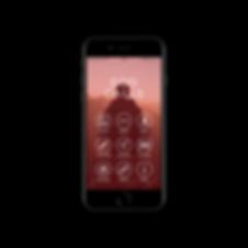 God Calls iPhone 7 Homepage Screen