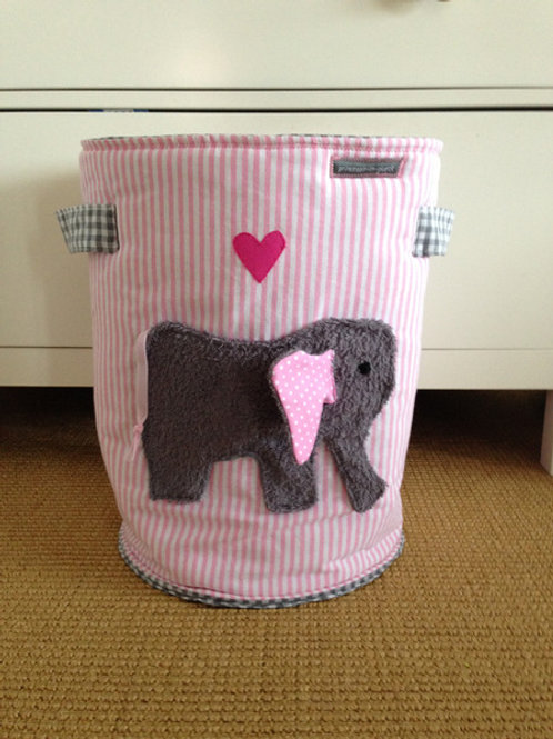 von Spielzeugtasche/ Spielzeugtonne *Elefant #2*