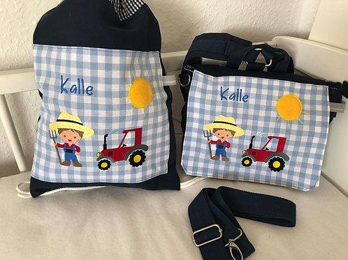 Kindergarten Rucksack / Tasche Bauer KTS0226