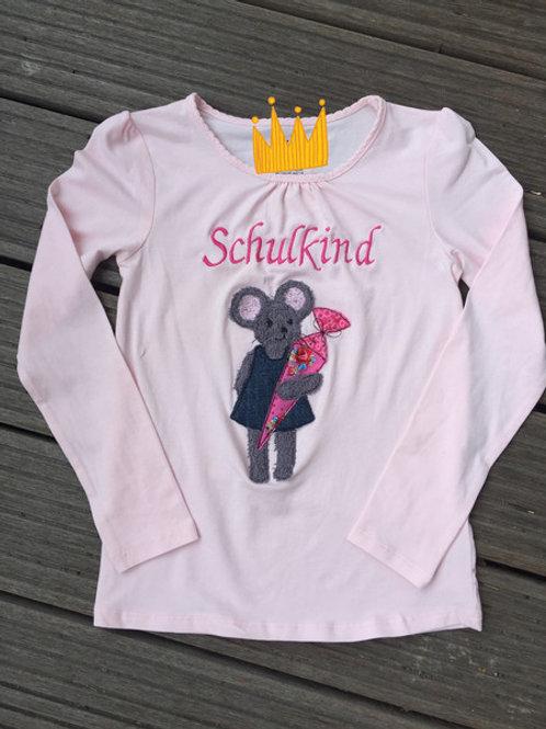 Schulkind T-Shirt *Mausi*