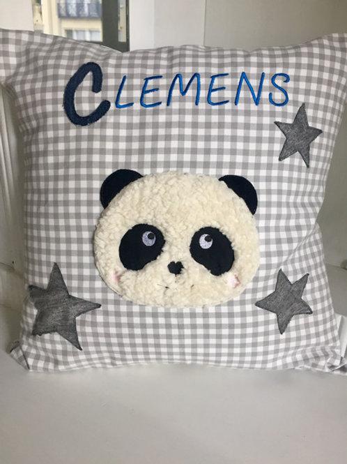 Kinderkissen *Panda Clemens*