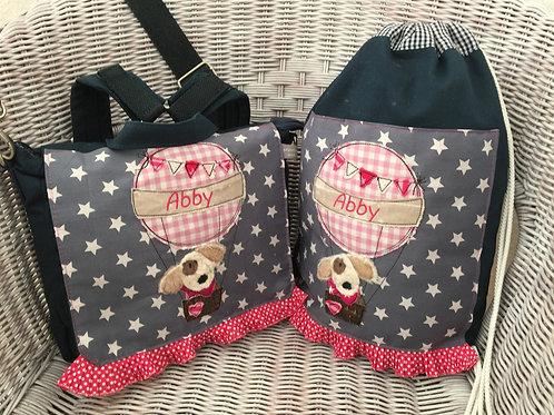 Kindergartentasche & Turnbeutel Hund