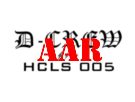 HCLS 005 AAR