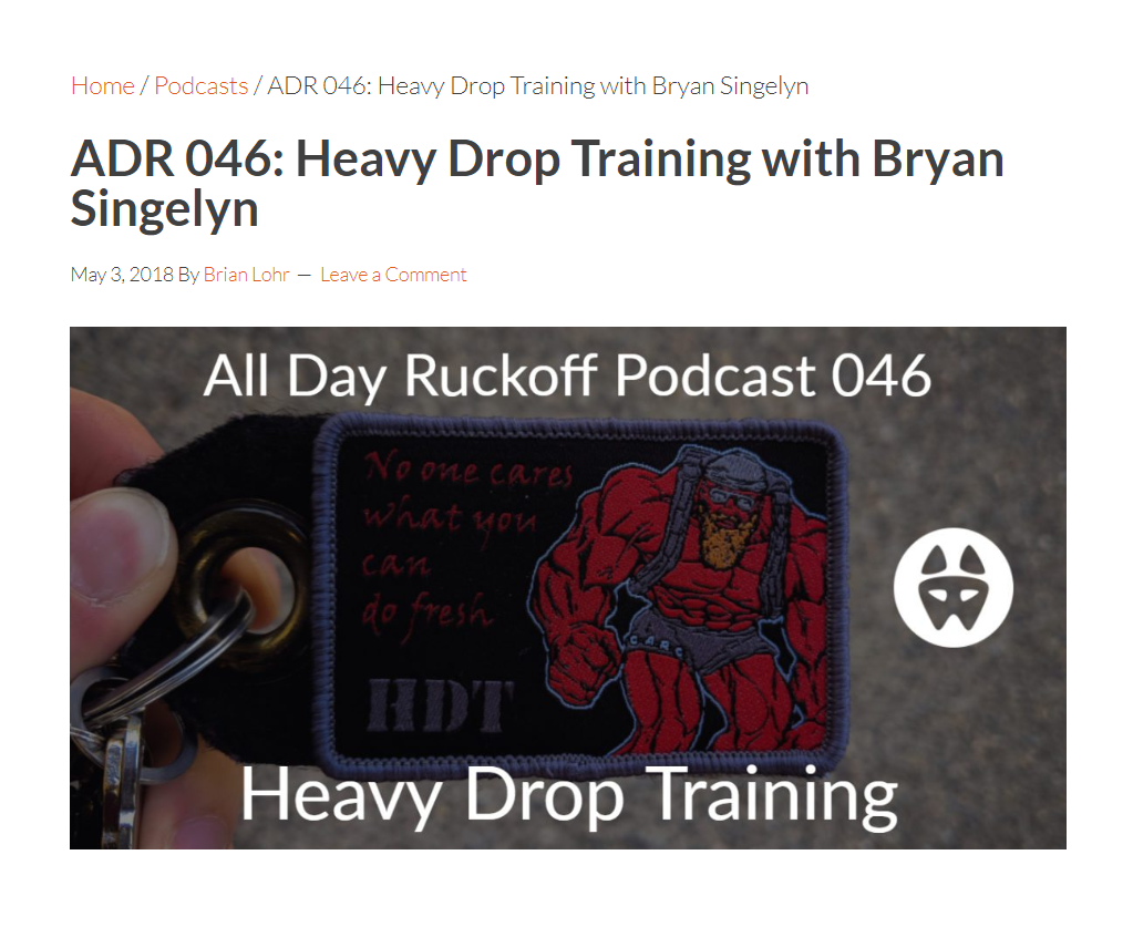 All Day Ruckoff Podcast 046