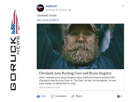 GORUCK NEWS: 1st of the GORUCK America CARC Ed. Write-ups