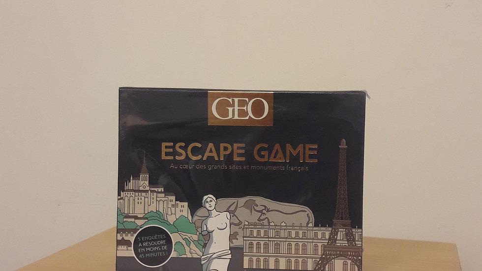Escape Game Géo : Au cœur des grands sites et monuments français