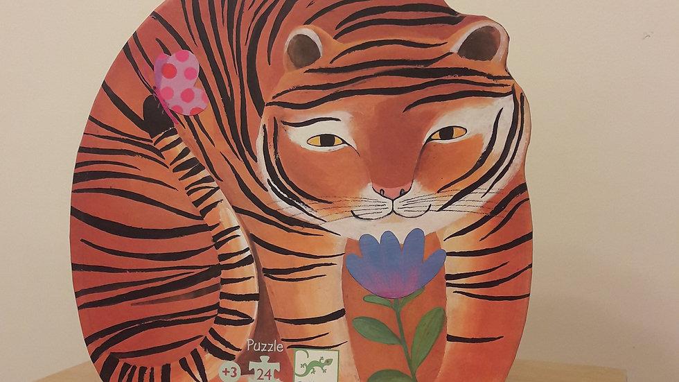 """Puzzle """"La balade du tigre"""""""