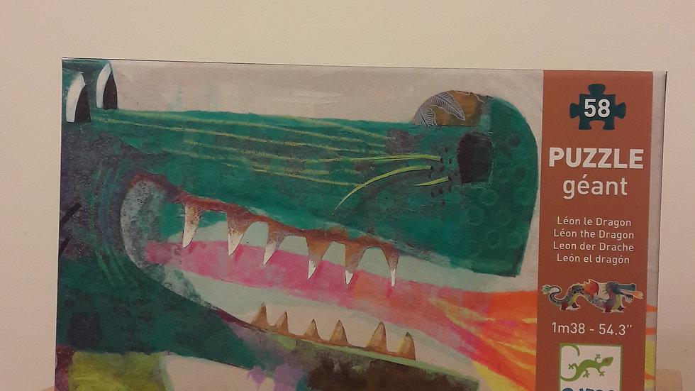 """Puzzle géant """"Léon le Dragon"""""""