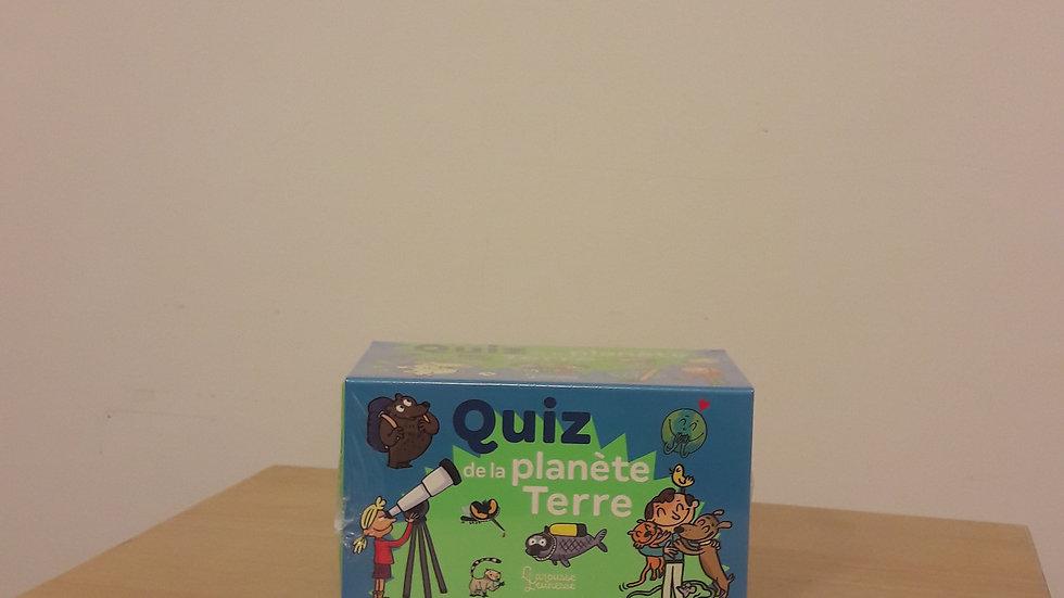 Quiz de la planète Terre