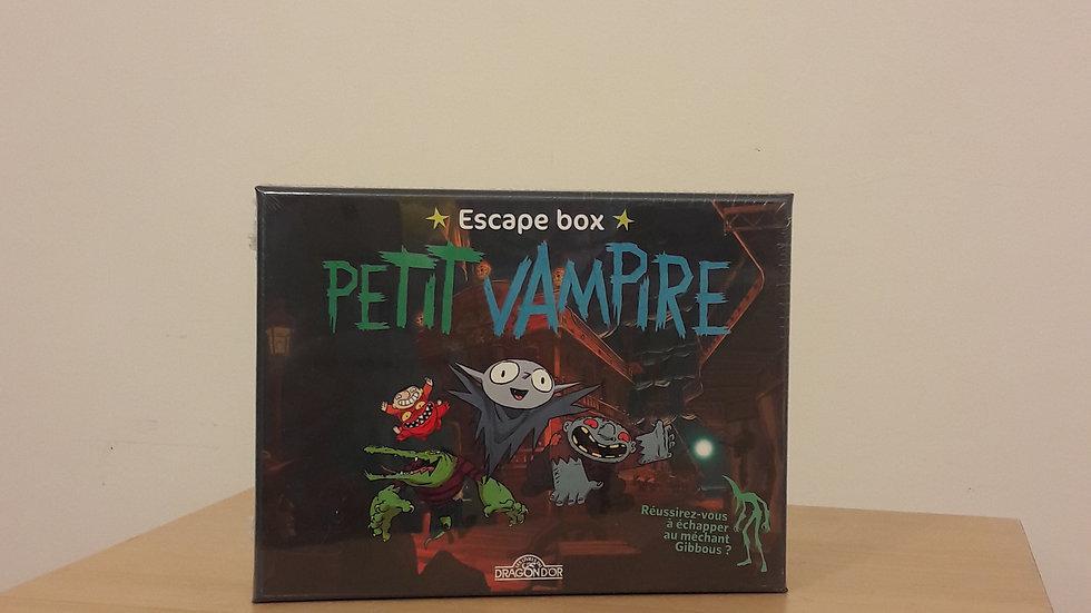 Escape box Petit Vampire