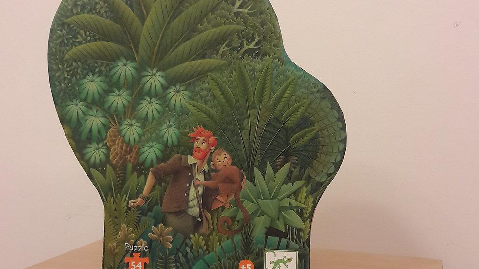 """Puzzle """"Dans la jungle"""""""