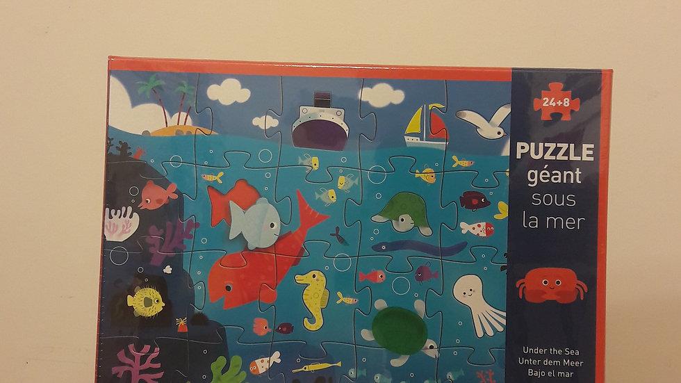 """Puzzle géant """"Sous la mer"""""""
