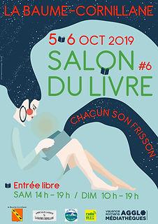 Affiche Salon Baume Cornillane 2019 bleu