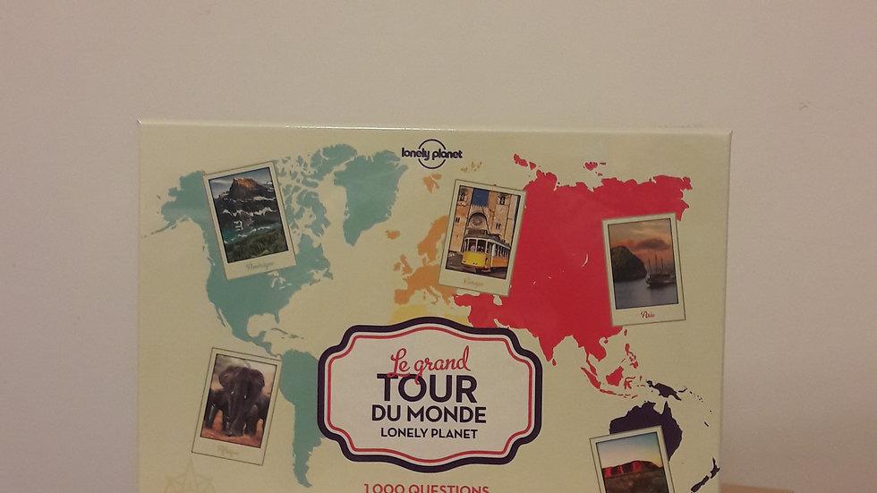 Le grand tour du Monde Lonely Planet